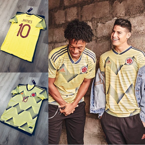 info for c64fd 02ee5 James Rodriguez #10 soccer jersey Colombia home